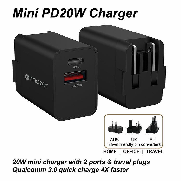 Củ Sạc Infinite.BOOST SuperMINI PD20W Wall Charger