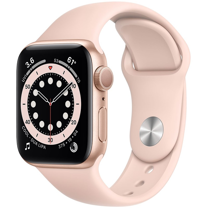 APPLE WATCH SERIES 6 40MM VIỀN NHÔM DÂY CAO SU (GPS)