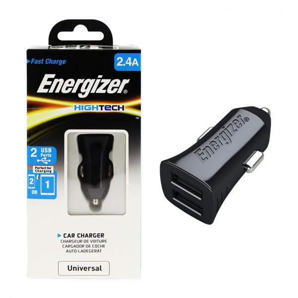 Sạc Ô Tô Energizer 2.4A 2USB