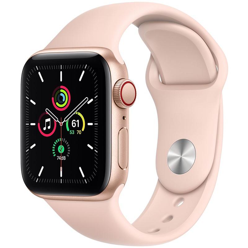 Apple Watch SE 40mm viền nhôm dây cao su GPS + CEL