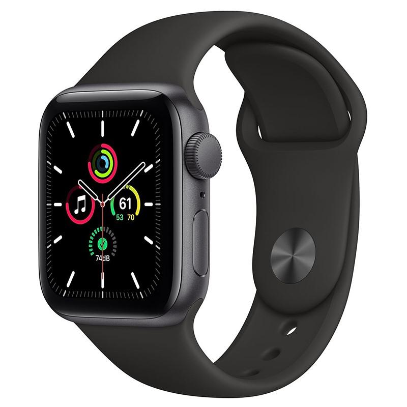 Apple Watch SE 44mm viền nhôm dây cao su GPS