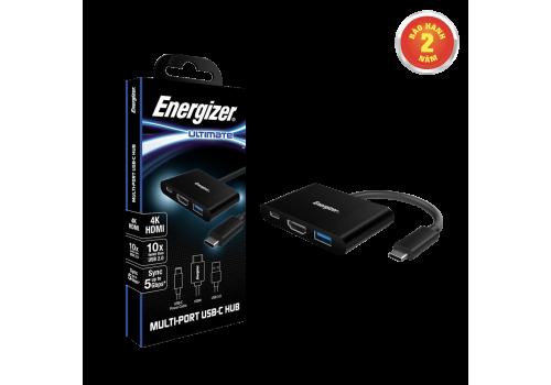 Bộ chuyển USB-C3.1 Hub Energizer USBA/USB-C/HDMI - HC303CV